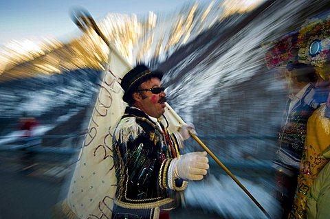 Carnival, Saint RhŽmy en Bosses, Valle d'Aosta, Italy