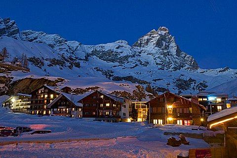 Breuil-Cervinia, Valtournenche, Valle d'Aosta, Italy