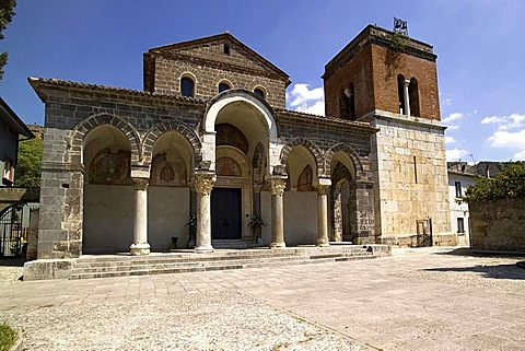 Basilica of Sant Angelo in Formis, Capua, Campania, Italy, Europe