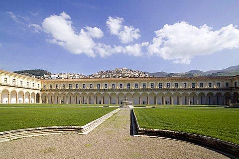 Certosa di San Lorenzo, Padula, Cilento, Campania, Italy, Europe