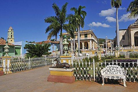 Plaza Mayor, Trinidad, Cuba, West Indies, Central America