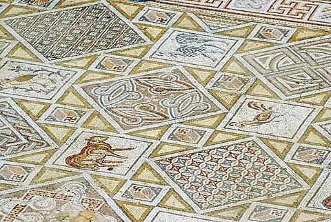 Mosaics, Jerash, Jordan, Middle East