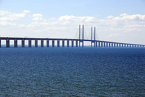 Oresund Bridge, Malmo, Sweden, Scandinavia, Europe