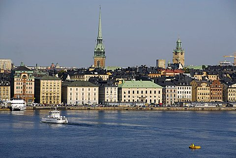 Cityscape, Stockholm, Sweden, Scandinavia, Europe