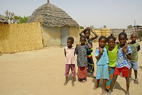 Peul children, Republic of Senegal, Africa