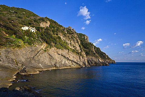 Punta Chiappa, Portofino mount, Camogli, Ligury, Italy