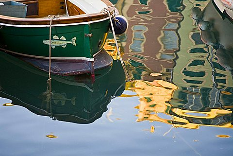 Boat, Camogli, Ligury, Italy