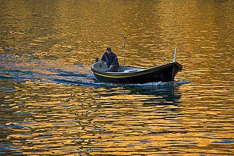 Fishing boat, Camogli, Ligury, Italy