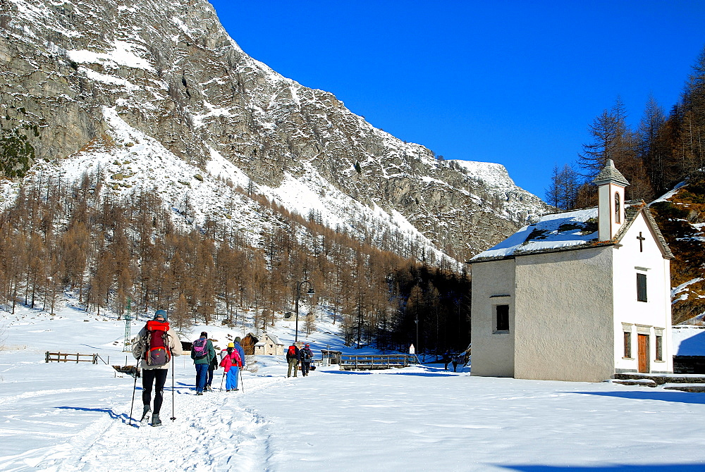 Trekking in Alpe Devero, Ossola Valley, Verbania province, Piedmont, Italy