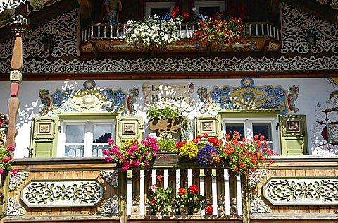 House in Canazei,  Fassa Valley, Trento Province, Trentino, Italy