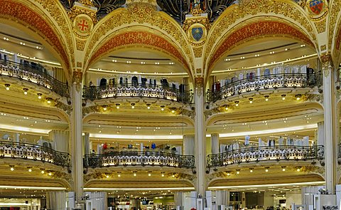 Galeries La Fayette, Paris, France, Europe
