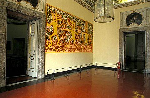 Permanent exhibition of modern art, Reggia di Caserta, Caserta, Campania, Italy