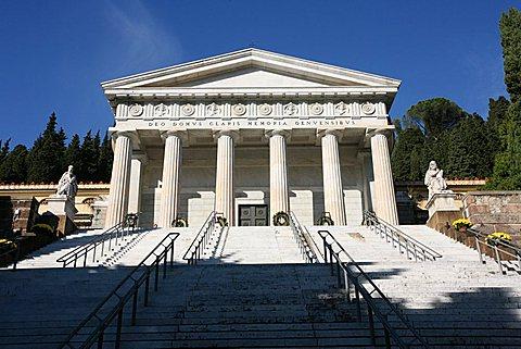 Staglieno Monumental Cemetery, Cimitero Monumentale, Staglieno, Genoa, Ligury, Italy, Europe