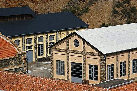 Montevecchio mine, Guspini, Medio Campidano, Sardinia, Italy