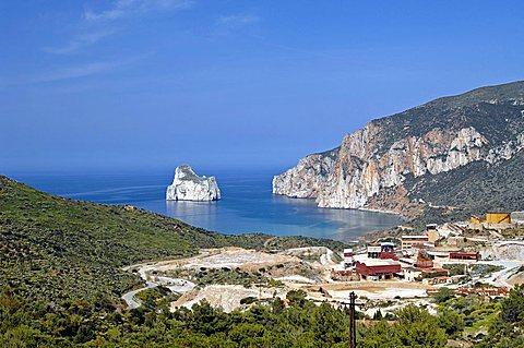 Nebida, Masua, Iglesias, Sulcis, Iglesiente, Carbonia, Iglesias, Sardinia, Italy