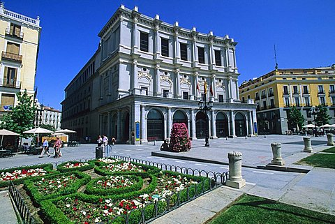 Teatro Real, Madrid, Spain, Europe