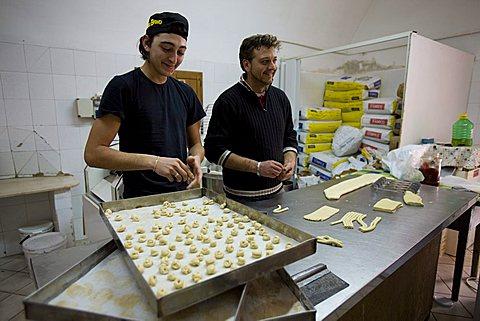 Homemade pasta, Ostuni, Puglia, Italy