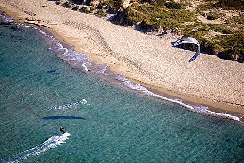 Kite surf, Carovigno, Puglia, Italy
