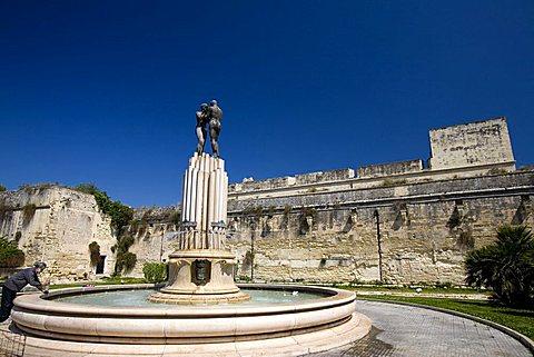 Carlo V castle, Lecce, Puglia, Italy
