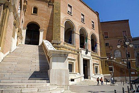 Municipal palace, Foggia, Puglia, Italy