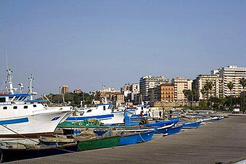 Fishing boats, Taranto, Puglia, Italy