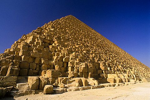 Pyramid of Cheope, Giza, UNESCO World Heritage Site, Cairo, Egypt, North Africa, Africa