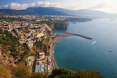 coast of Castellammare di Stabia, Naples, Campania, Italy, Europe