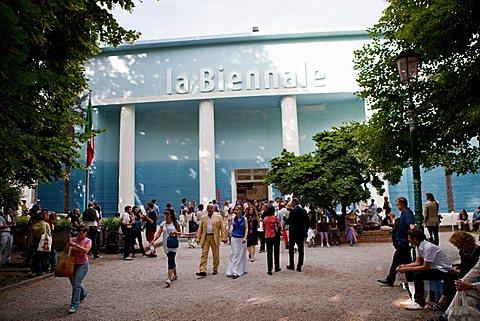 Entrance, 53rd Biennial Exhibition of Modern Art, Venice, Veneto, Italy