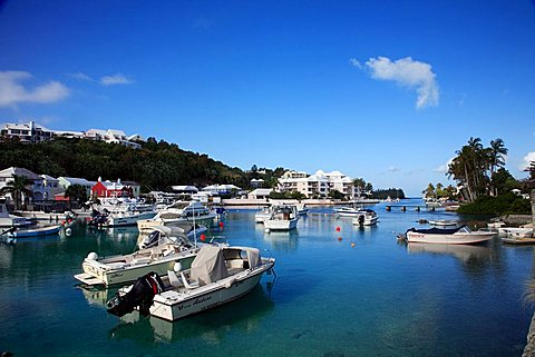 Harbour, Flatts Village, Smiths Parish, Bermuda, Atlantic Ocean, Central America