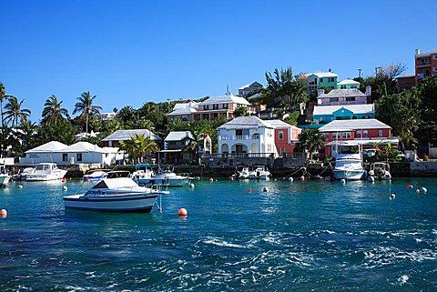 Foreshortening, Bermuda, Atlantic Ocean, Central America