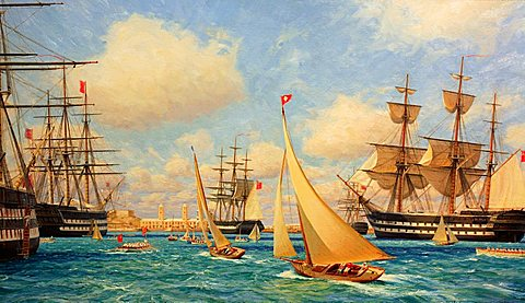 Maritime Museum, Bermuda, Atlantic Ocean, Central America