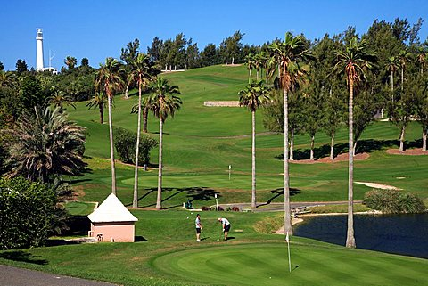 Belmont Hills Golf Club, Bermuda, Atlantic Ocean, Central America