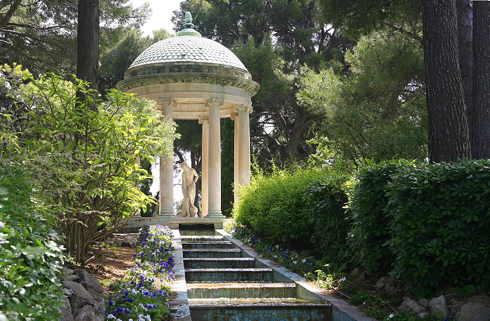 Temple of Love, Villa Ephrussi De Rothschild, St. Jean Cap-Ferrat, France