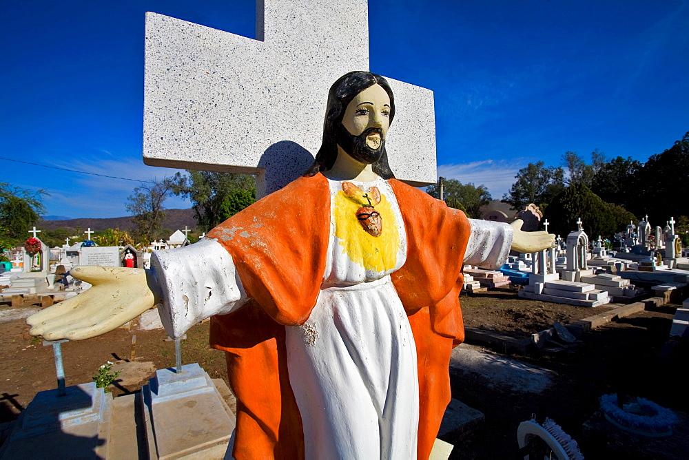 Cemetery, Alamos, Sonora, Mexico, Central America - 746-66060
