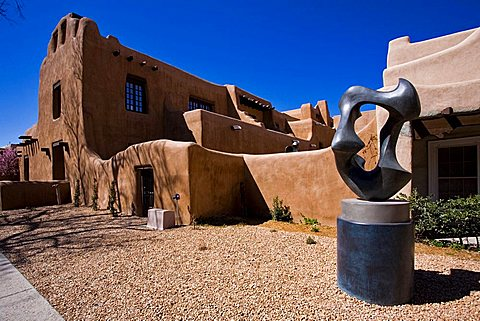 Foreshortening, Santa Fe, New Mexico, United States of America, North America