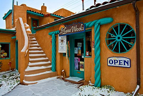 Shop, Taos, New Mexico, United States of America, North America