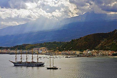 Baia Giardini di Naxos, Messina, Sicily, Italy, Europe