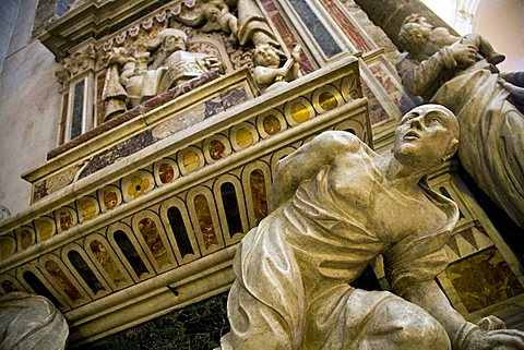Monument, Sant'Agata Cathedral, Catania, Sicily, Italy, Europe