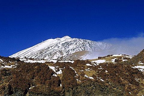 Teide mountain, Teide National Park, Tenerife island, Canary Islands, Spain