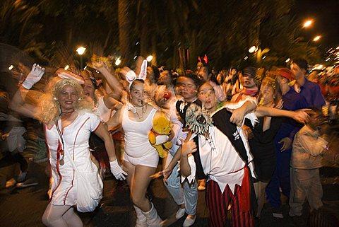 Carnival Parade at Las Palmas, Gran Canaria, Canary Islands, Spain, Europe - 746-66944