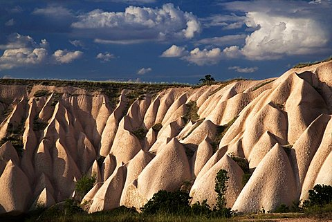 Dunes near Uchisar, Cappadocia, Turkey, Europe