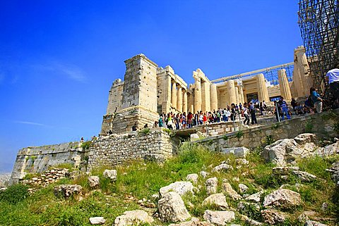 Acropolis, Athens, Greece, Europe, UNESCO World Heritage Site