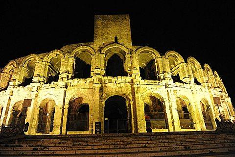 France, Provence, Arles, Roman theatre