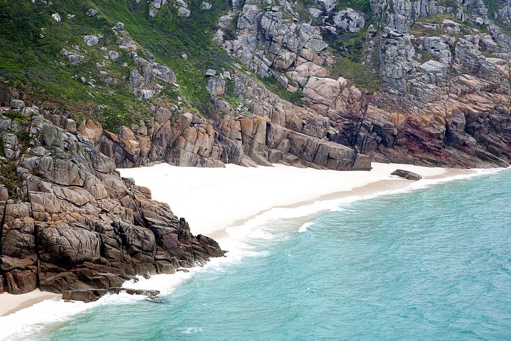 Porthcurno Beach, Cornwall, England, Great Britain