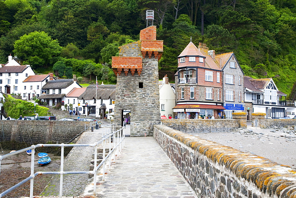 Lynmouth, North Devon, England, Great Britain
