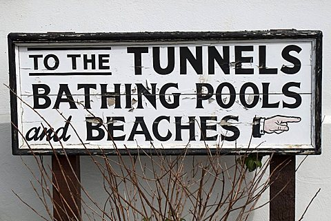 Tunnel Beaches Bathing Pools, Ilfracombe, North Devon, England, Great Britain
