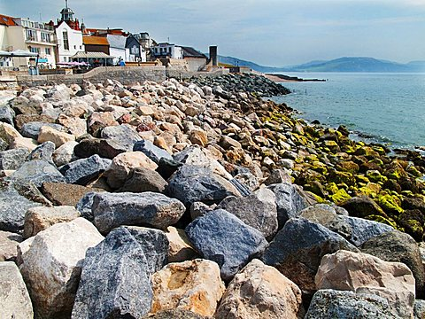 Jurassic Coast, World Heritage Site, Lyme Regis, West Dorset, England, Great Britain