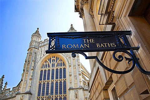 The Cathedral, Bath, England, Great Britain