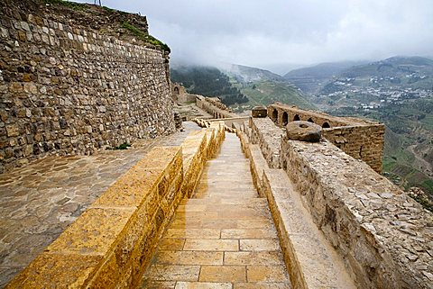 Middle East, Jordan, Karak Castle, the famous Crusader castle