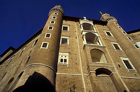 Ducale palace, Urbino, Marche, Italy